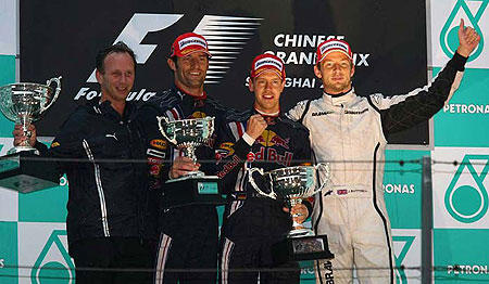 GP China F1 - Red Bull tuvo alas